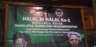 halal bi halal NU jepara