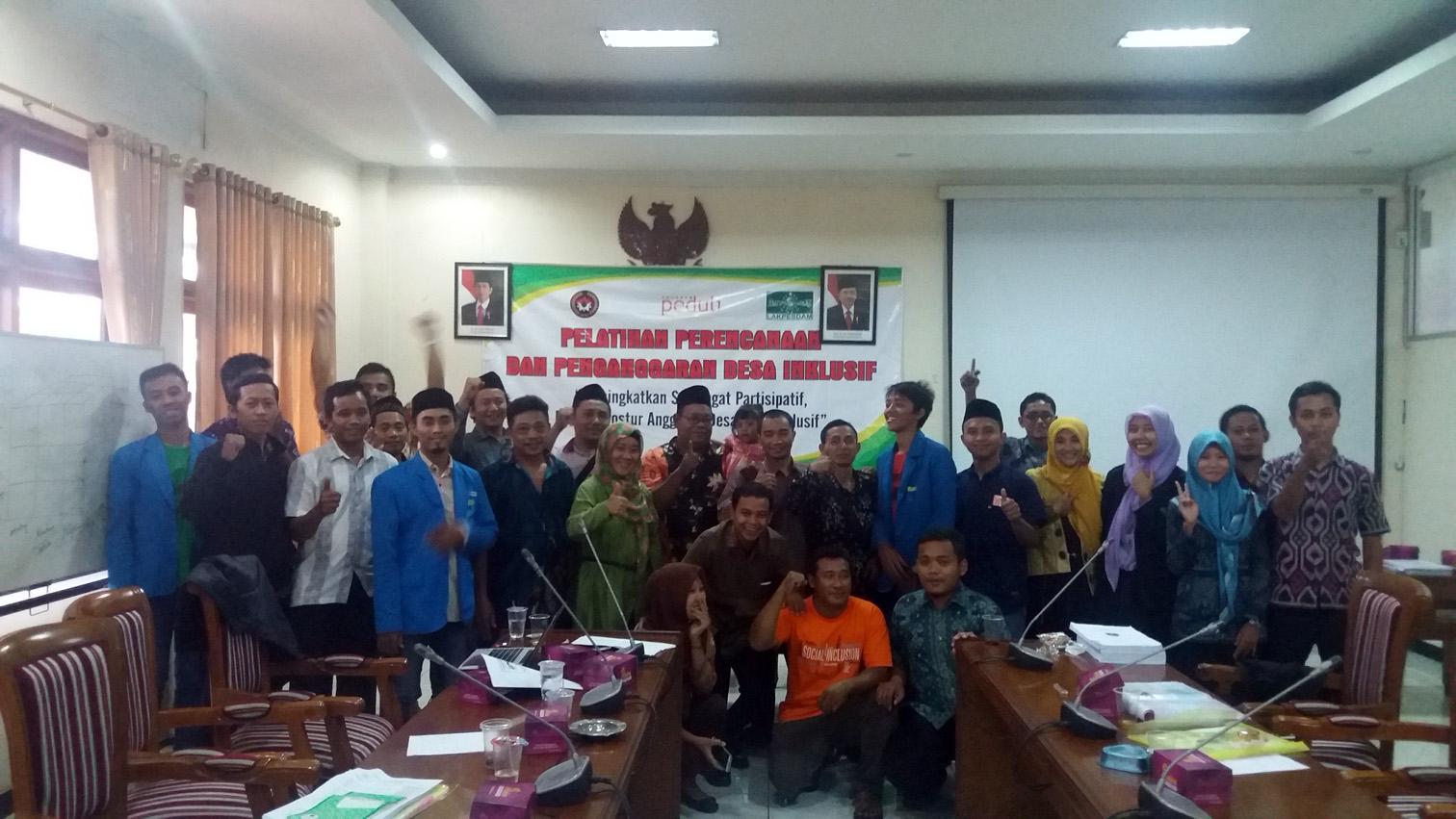 PELATIHAN: Para peserta saat mengikuti pelatihan perencanaan penganggaran yang diselenggarakan Lakpesdam NU di DPRD Jepara, baru-baru ini.
